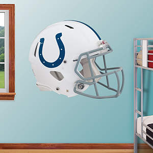 Indianapolis Colts Helmet Fathead Wall Decal